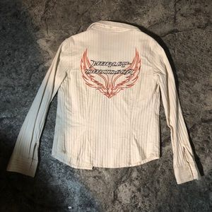 Harley-Davidson women's small motorcycle top